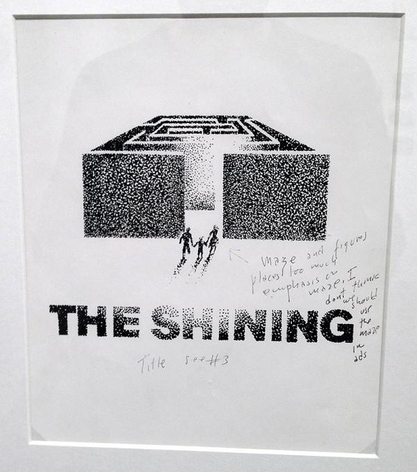 Kubrick: Labirent ve figürler, labirente çok anlam yüklemiş. Bence reklamlarda labirenti kullanmamalıyız.