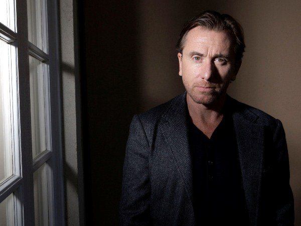 Francis Ford Coppola actor Tim Roth pose for a photograph in Los Angeles, Thursday, Oct. 12, 2007. (AP Photo/Kevork Djansezian)