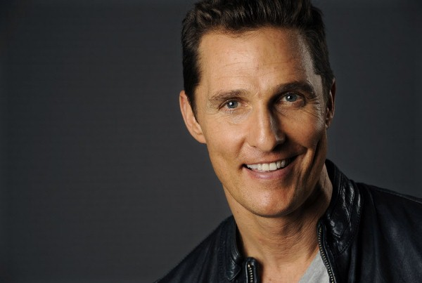 """This Oct. 12, 2013 photo shows actor Matthew McConaughey at the Four Seasons Hotel in Beverly Hills, Calif. McConaughey stars as Texan Ron Woodroof  in the based-on-a-true story, """"Dallas Buyers Club."""" The film releases, Friday, Nov. 1, 2013. (Photo by Chris Pizzello/Invision/AP)"""