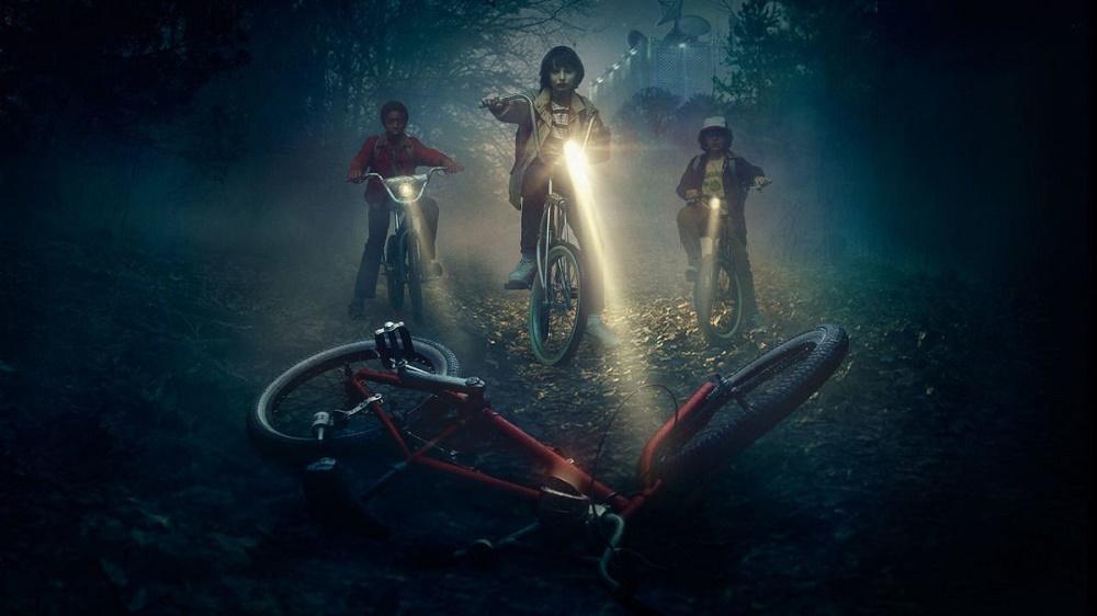 Stranger Things Bikes