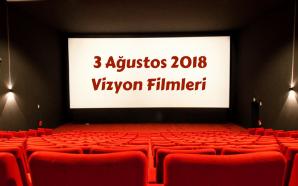 3 Ağustos 2018 Vizyon Filmleri ve Haftanın Ödülleri