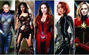 Sony, Marvel, Fox ve DC'den Kadın Kahramanlı Filmler