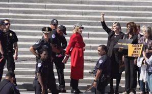 Jane Fonda, Çevreci Eylemde Gözaltına Alındı